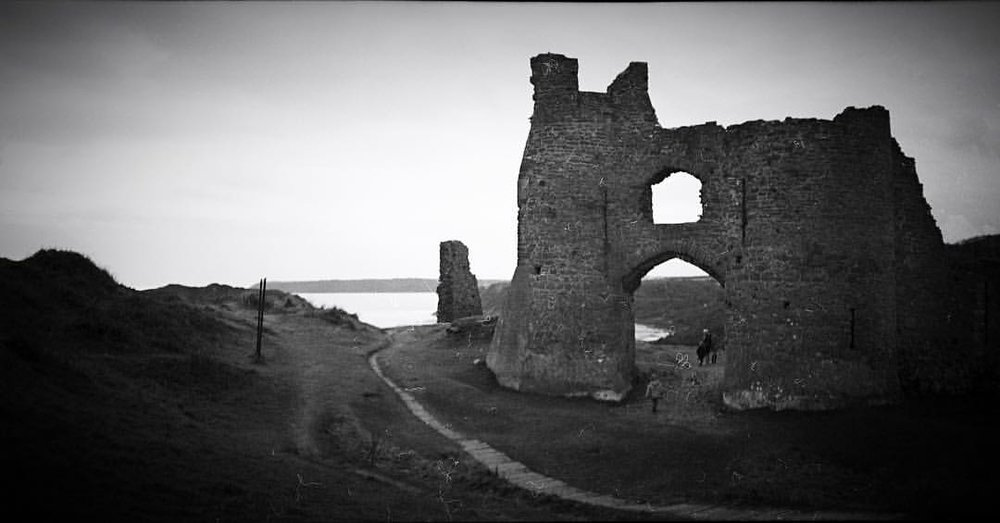 #Pennard Castle. Shot to #6x12 #MediumFormat #Film on my @lomography #belair