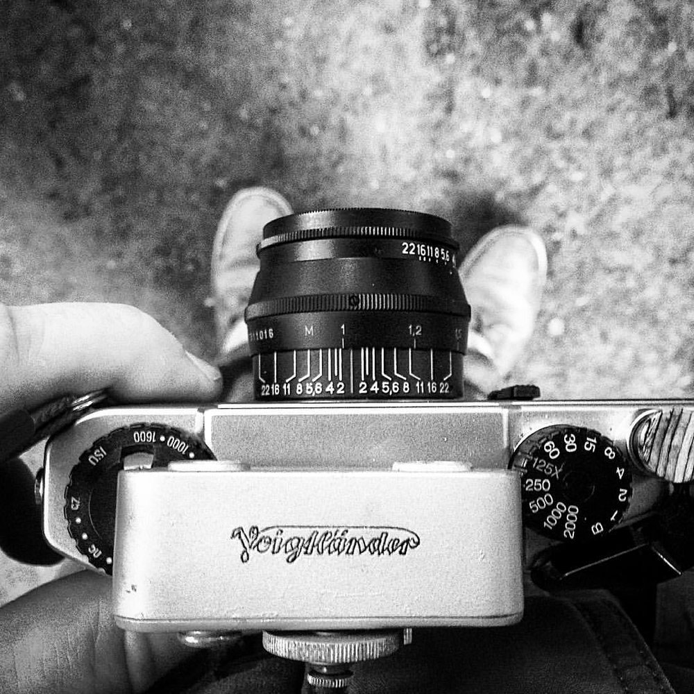 When your rangefinder is in feet and your lens in meters. #firstworldproblems