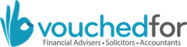 VouchedFor Logo Blue on White - 270px.png
