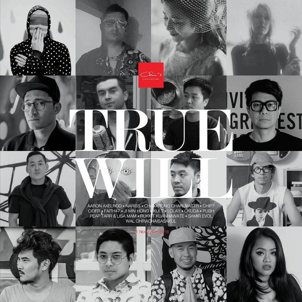 true will chin's gallery contemporary art bangkok