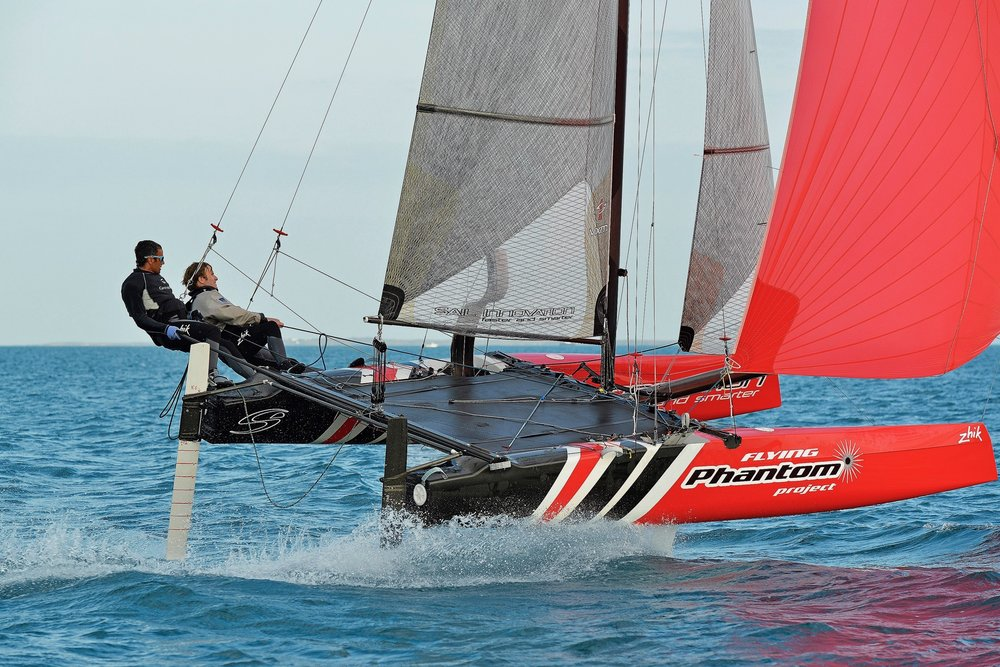 Early 2013 - Start of the collaboration with Groupama Sailing Team and Franck Cammas