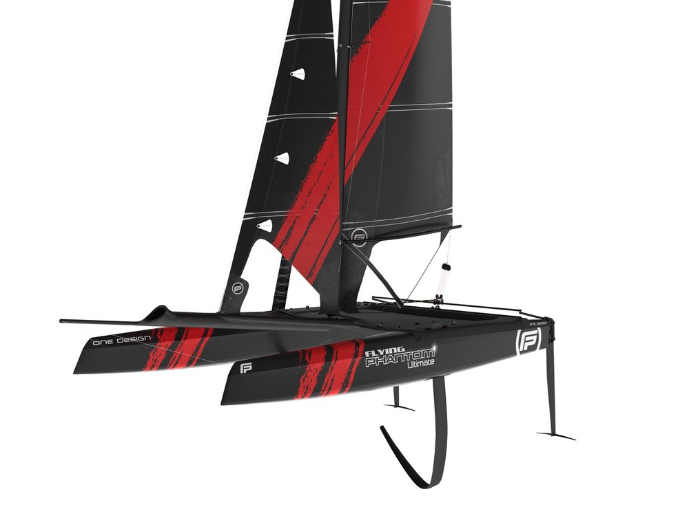 December 2017 - Launch of the Flying Phantom Ultimate, the high performance weapon