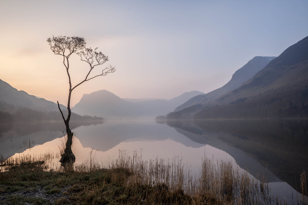 Pastel Dawn, Buttermere