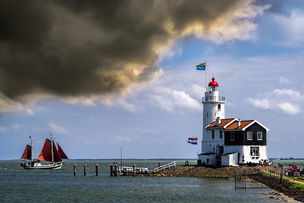 Paard van Marken lighthouse
