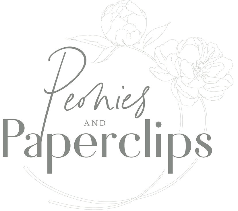 PEONIES & PAPERCLIPS
