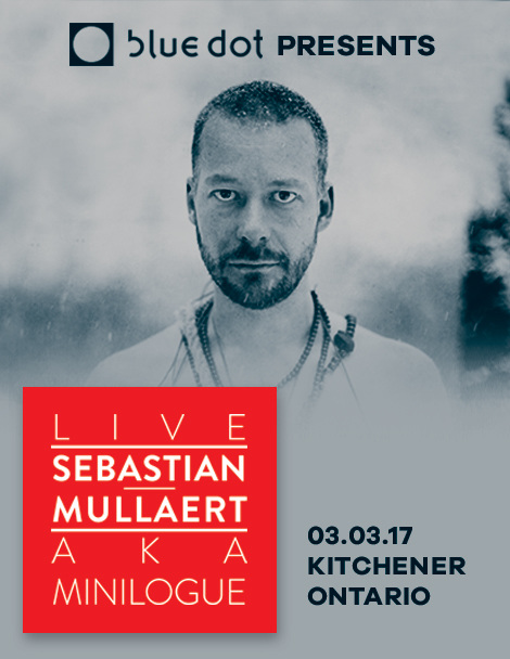 March 3 / Kitchener, Ontario  Peter Mettler will be performing live visuals for  Sebastian Mullaert  at  Blue Dot .