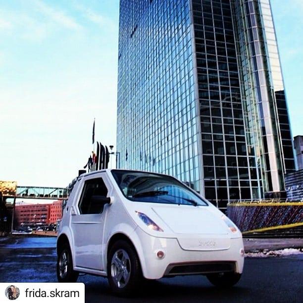 #Repost @frida.skram Best i byen! • • • • • #elbil #electric #buddyelectric #buddy #miljø #pure #mobility #car #cars #instacar #electriccar #environment