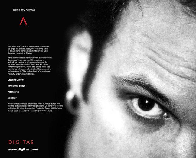 Digitas - U.S. Recruiting Ad