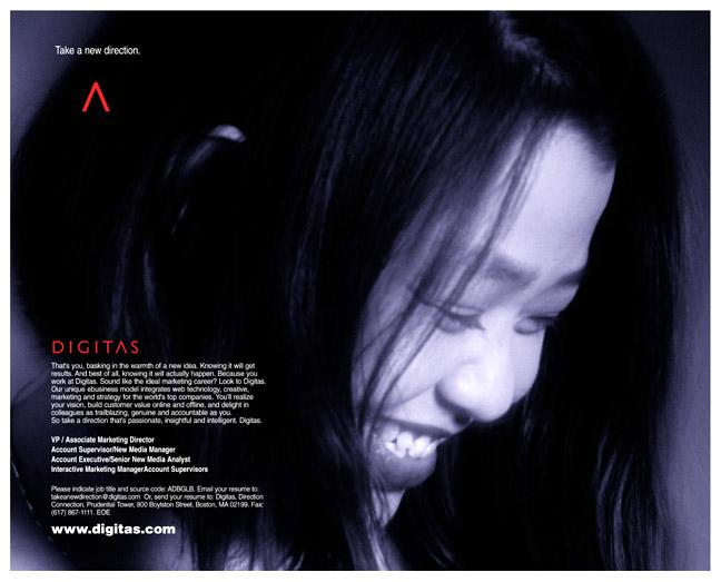 Digitas - Hong Kong Recruiting Ad