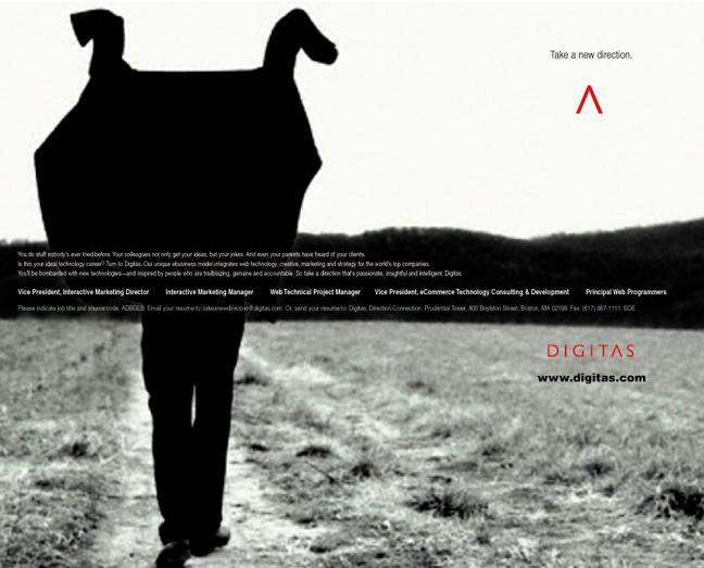 Digitas - U.K. Recruiting Ad
