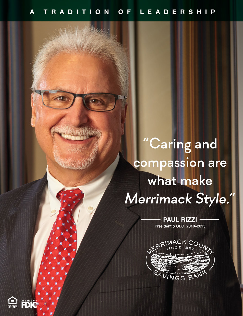Merrimack County Savings Bank - Leadership Ad