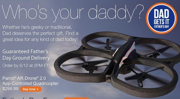 If I can write an email selling drones, why not a blog post telling you how to use one?
