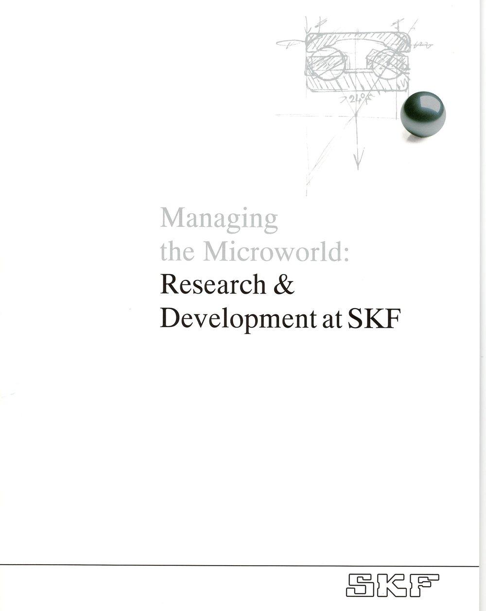 Research and Development Brochure (Detail Below)