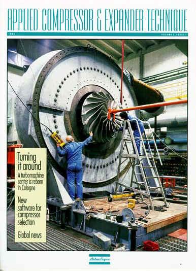 Atlas Copco Customer Magazine (Detail Below)