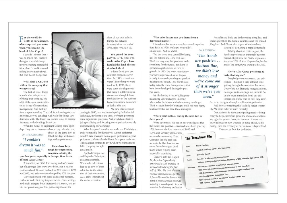 Interviews, Case Studies and Product Announcements Helped This Atlas Copco Magazine Generate 1,055 Qualified Sales Leads