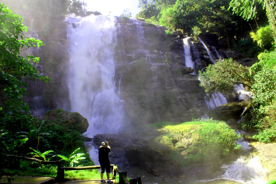 Wachirathan Waterfall during Rainy season.jpeg