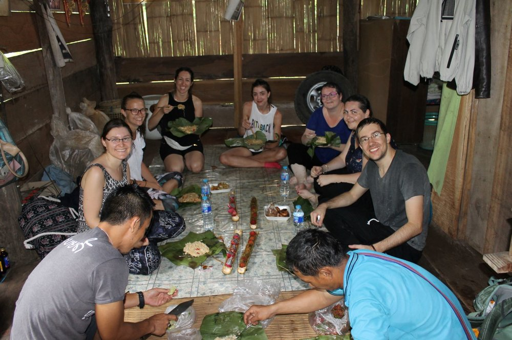 Dinner during the Exclusive Jungle Trekking - Two days.JPG
