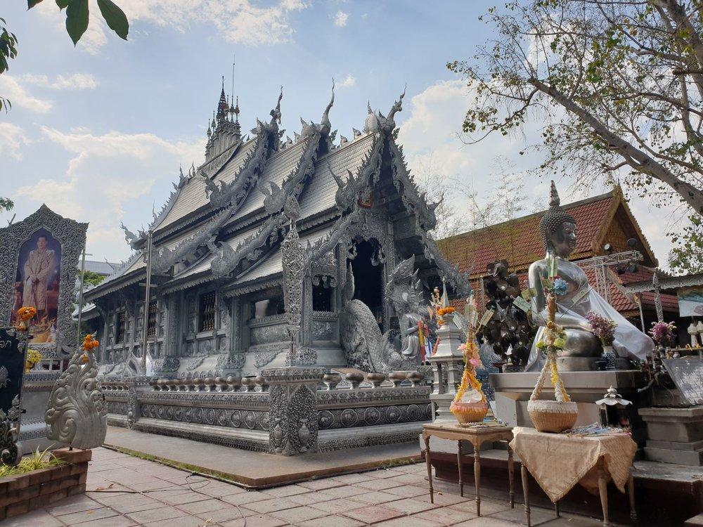 Wat Sri Suphan, Silver Temple