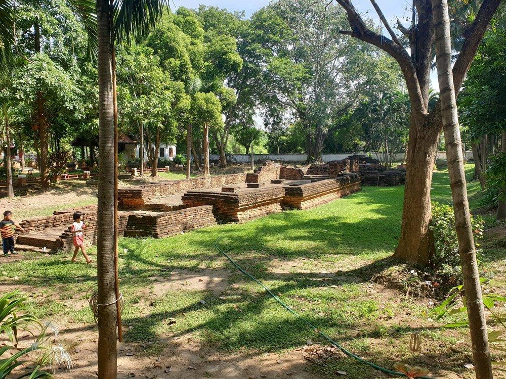 Ruins at Wiang Kum Kam