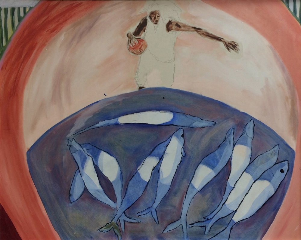 oil on canvas  70 / 80 cm  2016