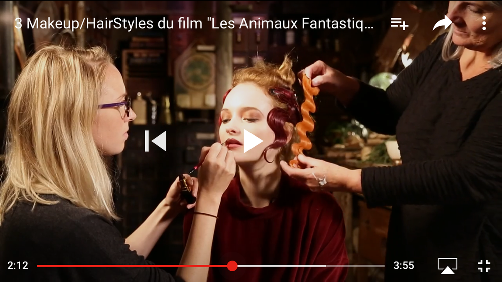 Youtube - Fantastic Beasts makeover 2016, with designer Fae Hammond