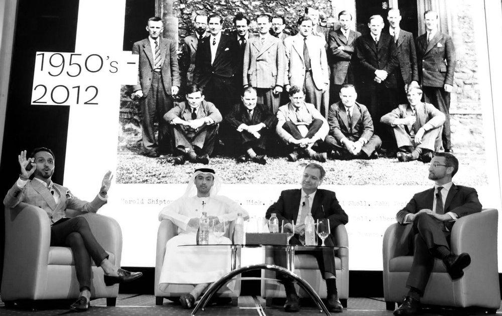 Panelists: Danish Farhan, Wesam Lootah, Bashar Kilani, Dr Noah Raford