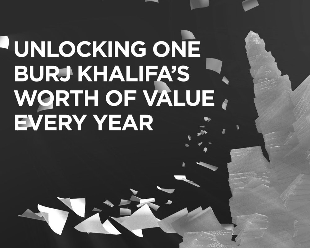 Blockchain-enabled government services for Dubai would result in savings of up to AED 5.5 billion per year — equal to the build cost of the Burj Khalifa