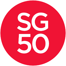 SG50 Logo Nicola Anthony