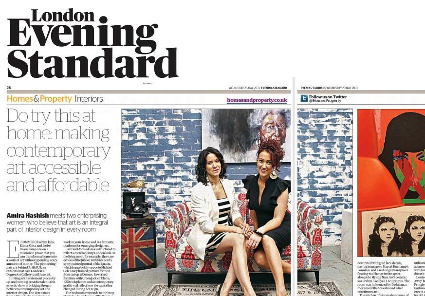 London Evening Standard, Nicola Anthony, review.png