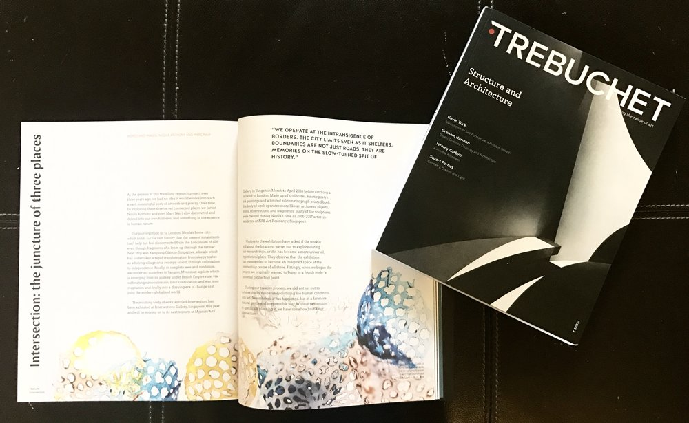 Trebuchet (Issue 2), Words and images by Nicola Anthony and Marc Nair, September 2017