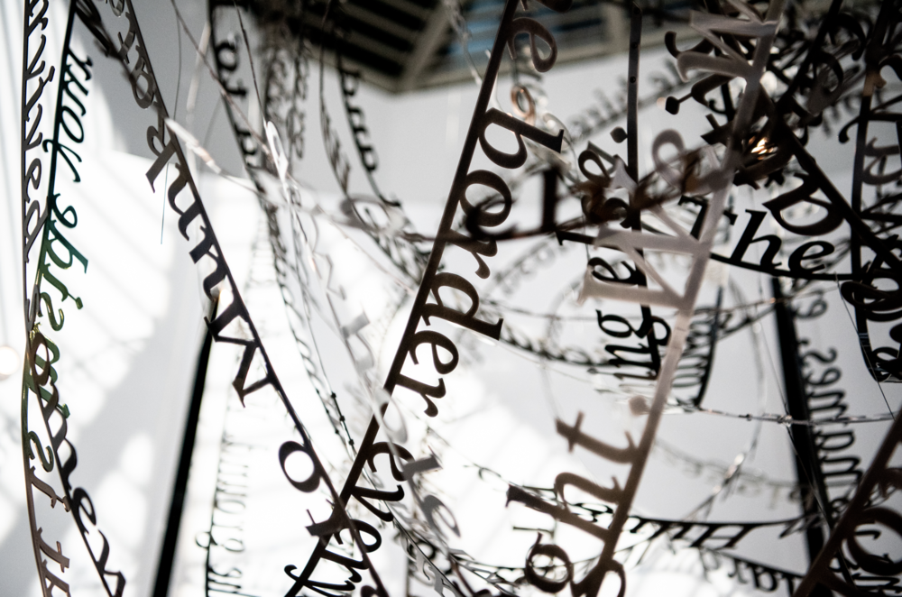 Remembering our Father's words, 2018, (c) Nicola Anthony. Stainless steel permanent sculpture, thumbnail_COPYRIGHT NICOLA ANTHONY_USC Shoah Foundation_4.png