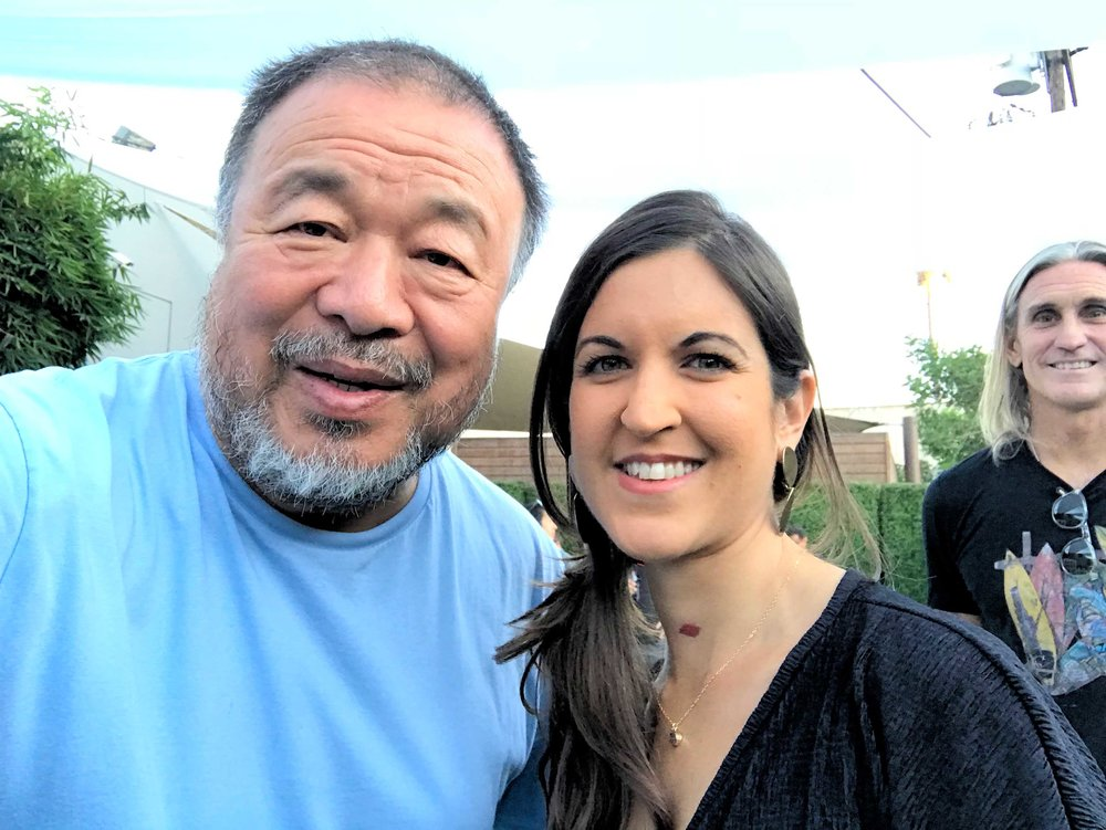 Meeting Ai Wei Wei in Los Angeles