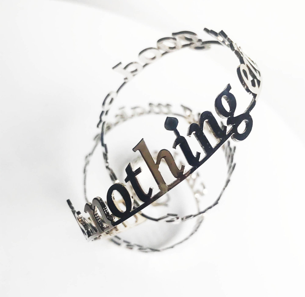 There is nothing either good or bad, but thinking makes it so (William Shakespeare), Nicola Anthony, 2018