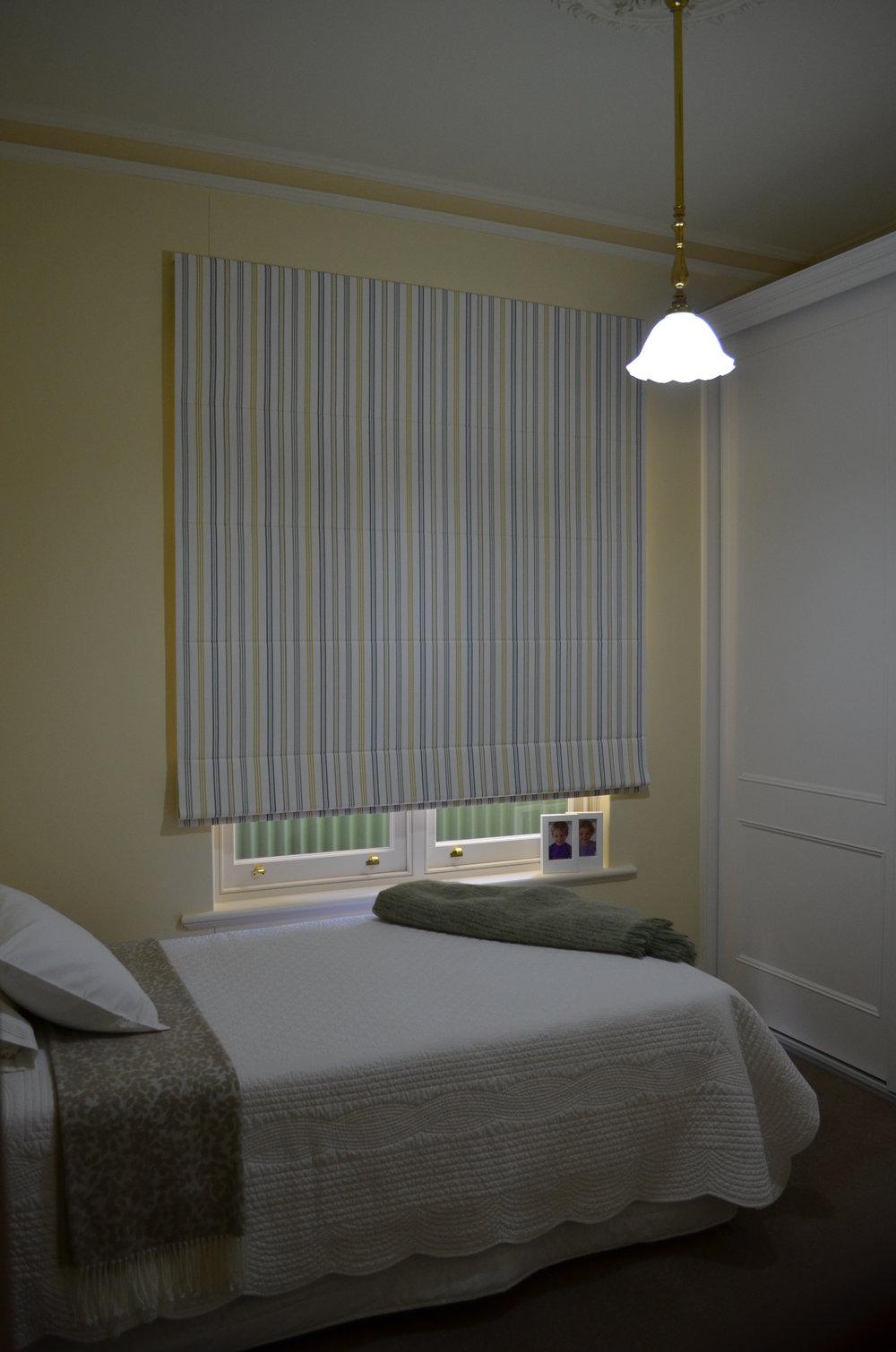 Spare Bedroom roman Blind