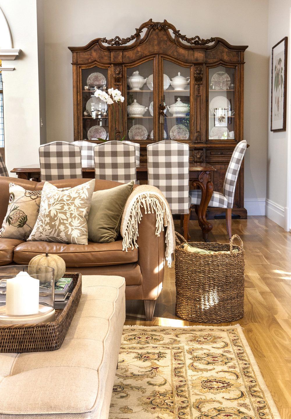 Hawthorn Villa Living Room Dining Room Adelaide Interior Design