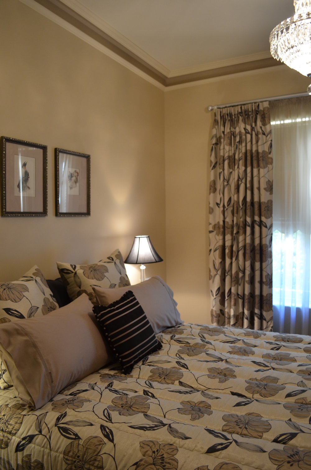 Carrie Deverson Interiors Bedroom Malvern Villa