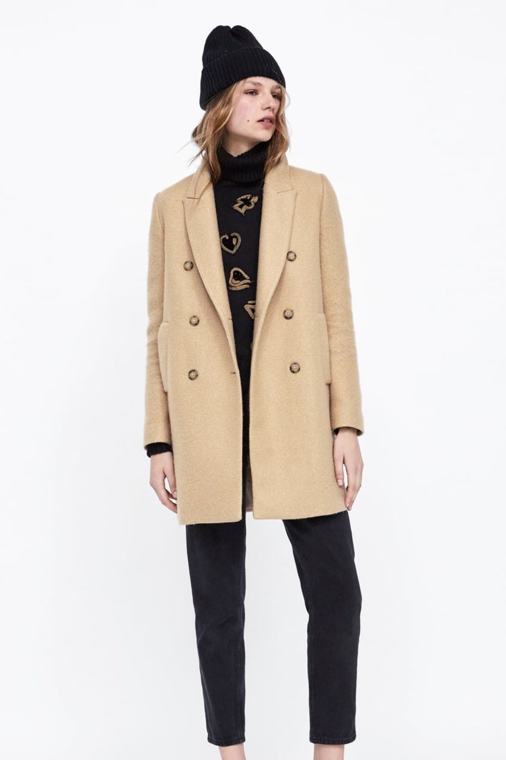 ^ Finish with a classic camel coat :)