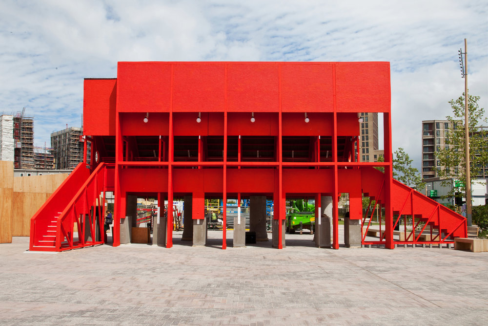 Red Pavilion by TAKA, Clancy Moore and Steve Larkin_Part of New Horizon_architecture from Ireland at London Festival of Architecture 2015_2_Image courtesy of Jon Bosworth.jpg