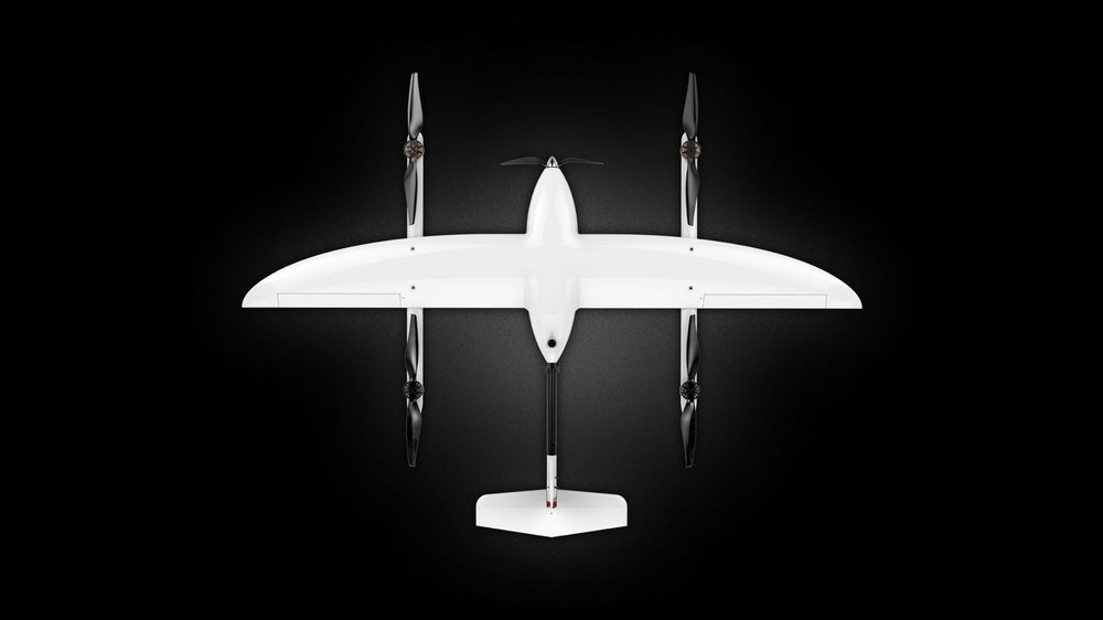 NEW! Ultra light vtol fixed wing uav - CW-007 - backpack & modular design for one-man operation6.8 kg / 65 km/h / 60 min / max transmission 60 kmprecision agriculture / aerial mapping / surveillance