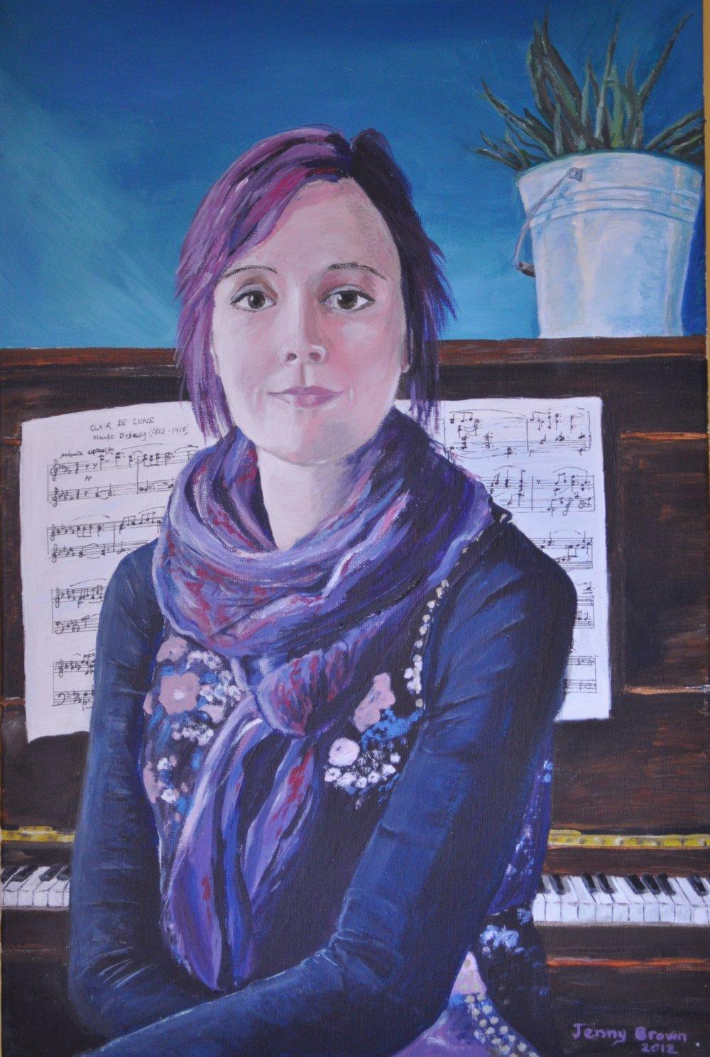Ashley Acrylic on Canvas 50x 70cm SOLD