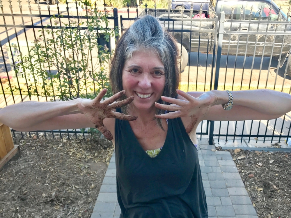 "Show us your grubby hands in the garden or the kitchen for a chance to win a free restorative yoga session with our Gracious Neighbor JoAnn, founder of OG Yoga!  One lucky winner will receive a private class and can invite up to 4 friends.  No prior yoga knowledge needed, just an open heart and mind!  How GOOD is that? ""JoAnn lead me through the most and healing and restorative yoga I've ever experienced"" - Albert Margens, Good Neighbor Tag @goodneighborgardens in your social posts and use at least one of the following hashtags to share your photos.  The winner will be announced in the next newsletter! #goodneighborgardens #1bigfarm #urbansharecrop #whatsgrowingon"