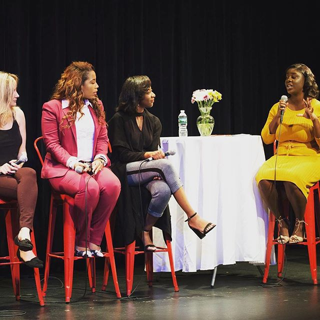 I had such a great time moderating the Public Relations & Marketing Panel with my fellow PR bosses @iamkeishabrewer of @thepralliance, @_giftofgab_ & Annie Scranton of @pace_pr pace_pr _____________________ It was so nice to talk with other professionals in my industry about everything from how to adapt in the digital space, how much publicists should be paid & how to find your niche.  _____________________ Thank you to @itsimanimurray for thinking of me for this! If you couldn't make it this year you missed out but don't worry, you'll have another opportunity next year. 📸 @jamondavisphotography
