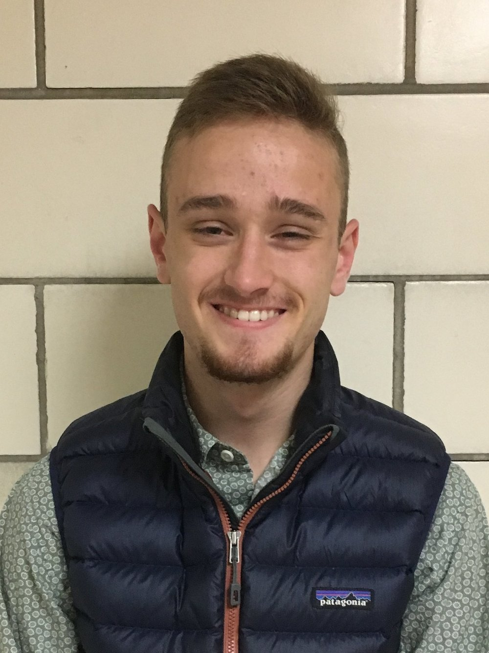 Name:  Ryan James Myler   Hometown:  Snowmass, CO   Fraternal Class:  Zeta   Major:  Dual degree in English and English Education