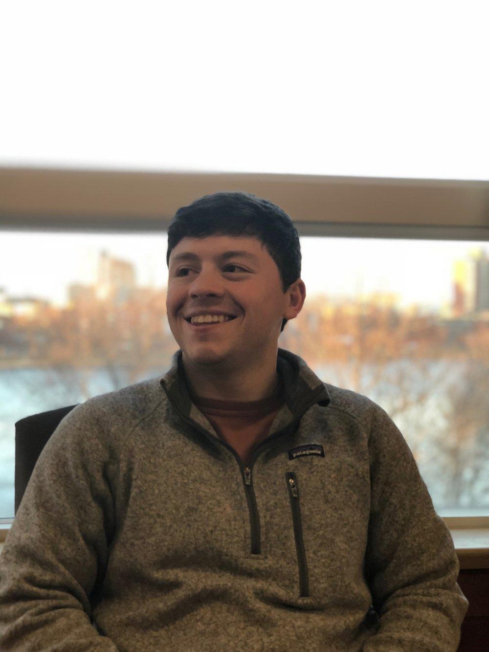 Name: Chandler Ryan Henning   Hometown: Simsbury, CT   Fraternal Class: Alpha   Major: International Relations & Economics