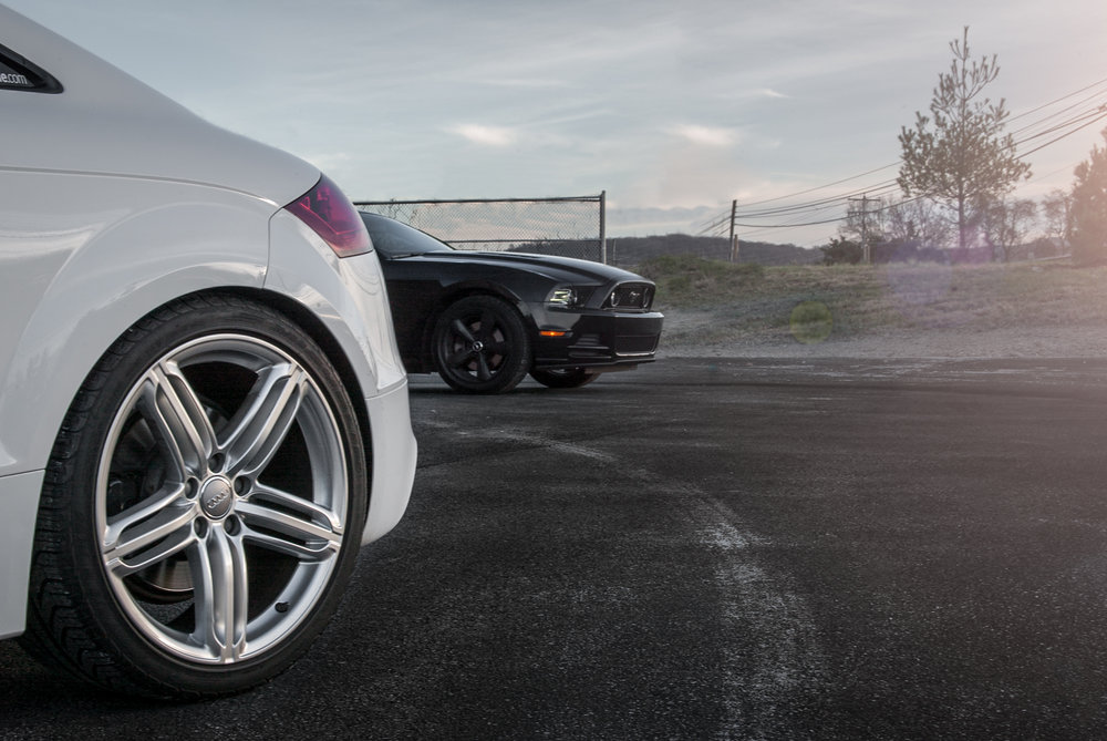 Audi TTS & Ford Mustang GT