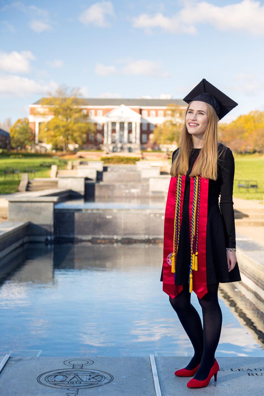 University of Maryland Graduation Portraits