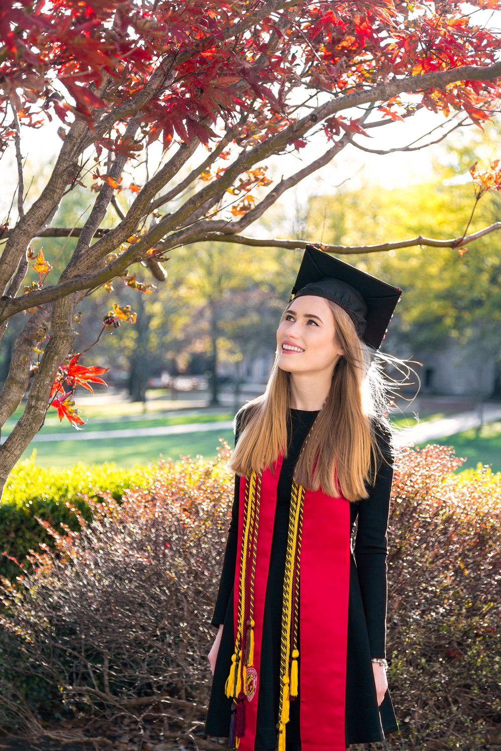 University of Maryland Graduation Portraits