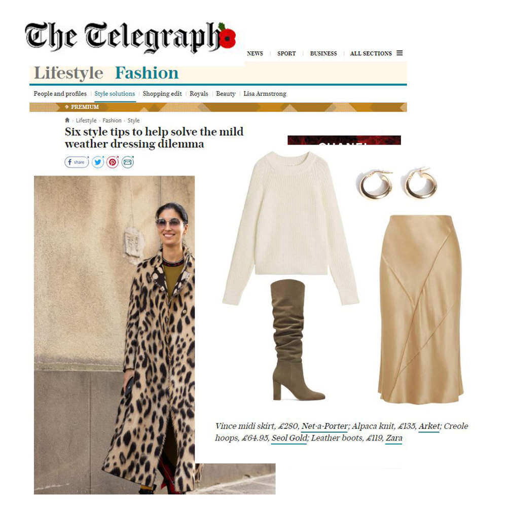 The Telegraph online - November 2018