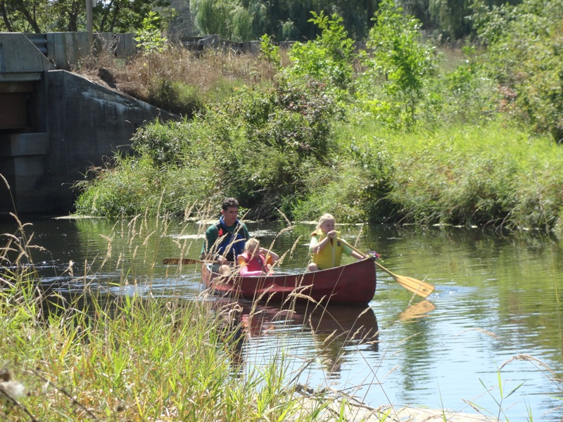 Photo 2 - Blau Family in Canoe.JPG