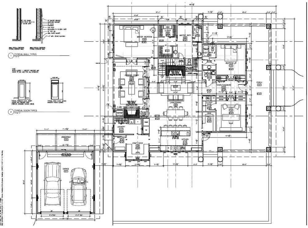 The Janet, floor plan view